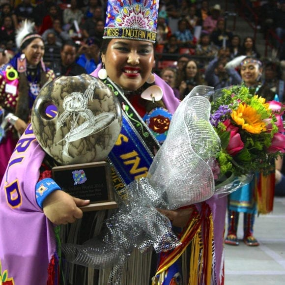 Crowning of Miss Indian World