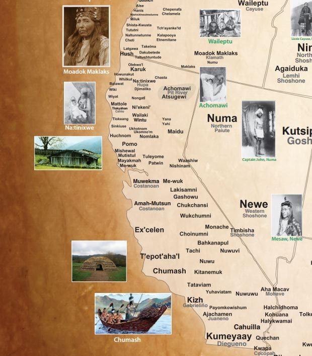 Photos Courtesy of: http://www.npr.org/assets/news/2014/06/Tribal_Nations_Map_NA.pdf